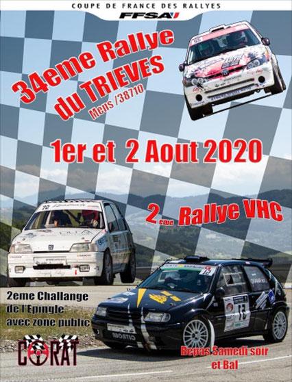 34eme Rallye du Trièves