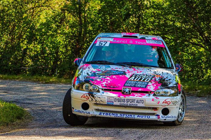 Rallye Manon Hasholder
