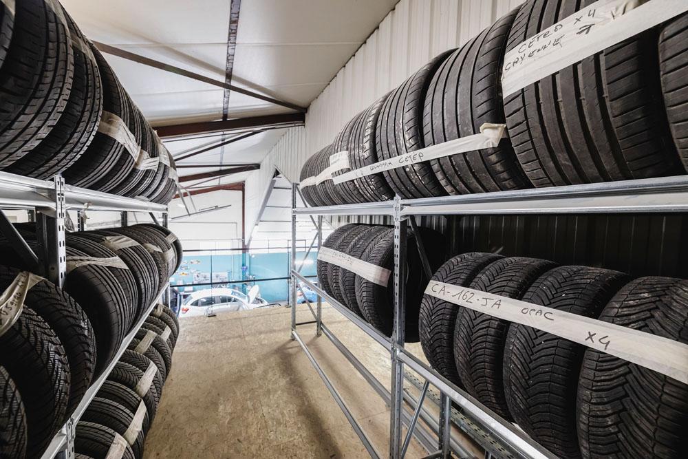 Eybens Sport Auto vous propose GRATUITEMENT le gardiennage de vos pneus hiver ou été