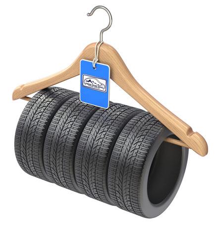 Comment stocker ses pneus
