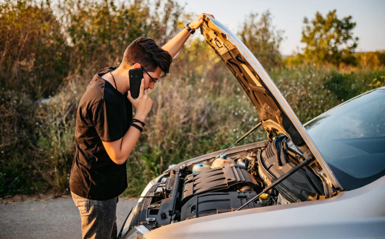 Calling roadside assistance