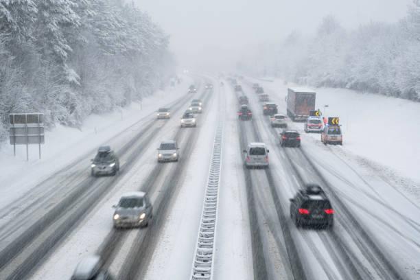 Conduire prudemment en hiver